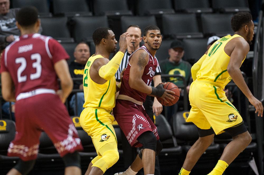 Photos: Oregon Men's Basketball outworks Rider University 99-86