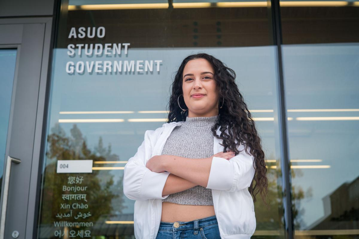 Get to know the ASUO president: Maria Alejandra Gallegos-Chacón