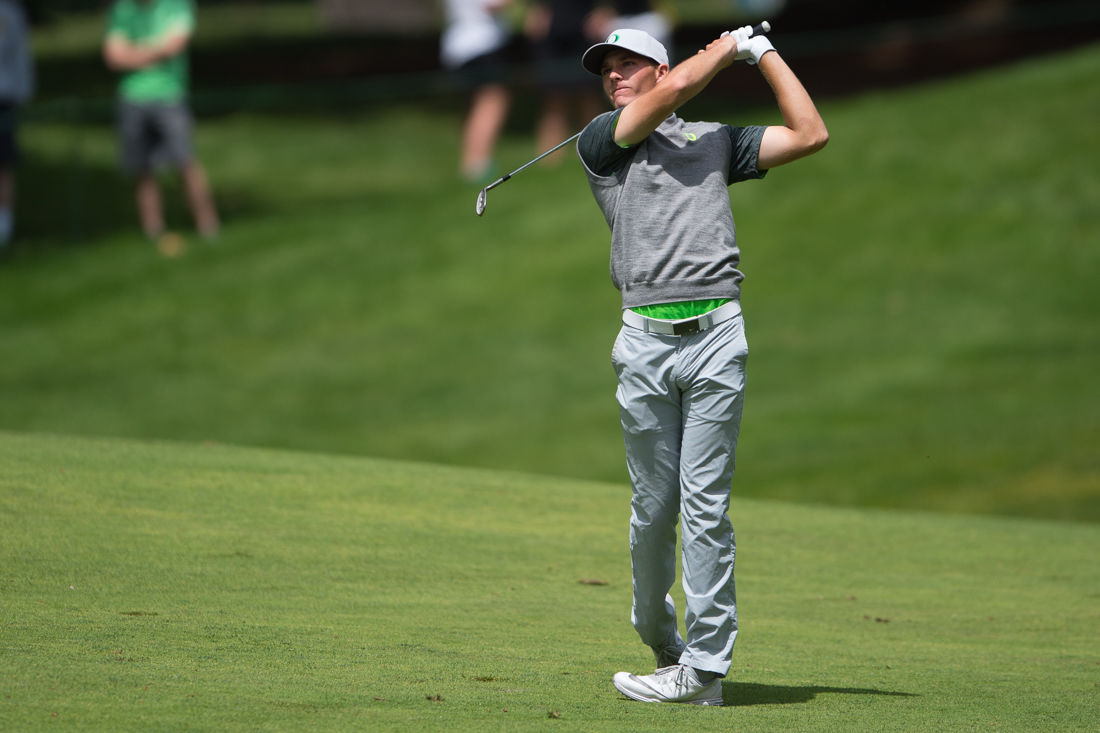 Photos: The Oregon Ducks play in the third round of the NCAA Championships