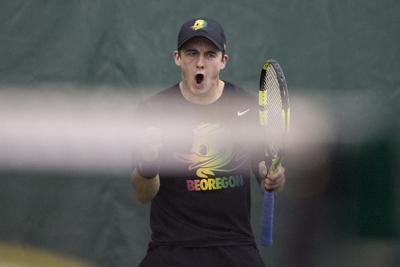Oregon men's tennis sweeps doubleheader against NAU and Gonzaga