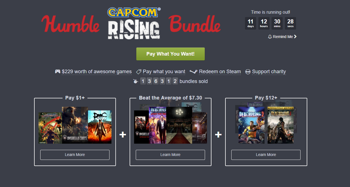 Gaming Week In Review: Indie game streaming service Jump in beta, Capcom's Rising Humble Bundle