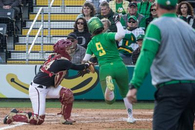 Ducks sweep doubleheader over No. 2 Florida State