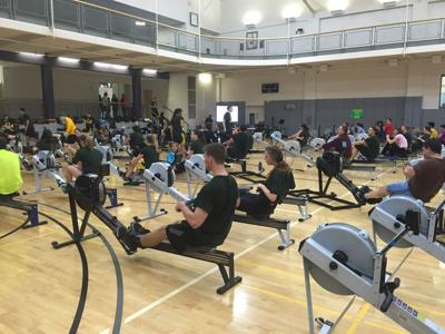 Club rowing meets goal of rowing 4.2 million meters in second Erg-A-Thon
