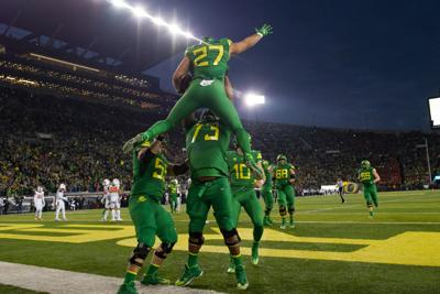 Oregon answered Oregon State's trash-talk with a dominating victory