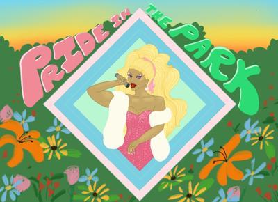 Pride in the park illustration