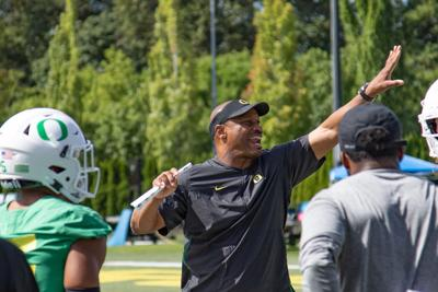 Fall camp showing how developing wide receiver depth will be crucial for Oregon this season