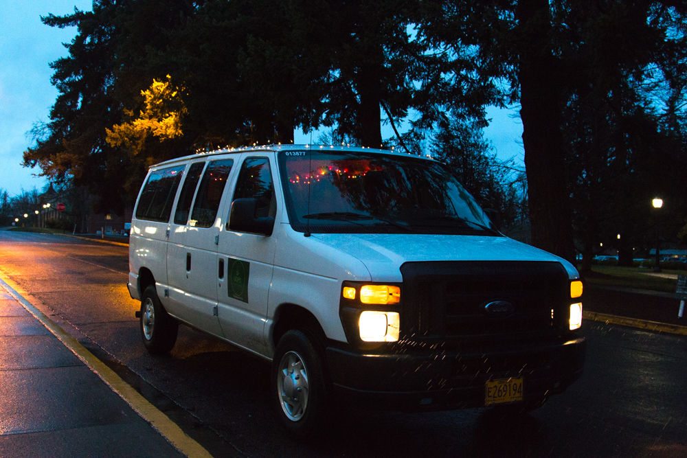 The new UO campus shuttle makes getting home safe easier