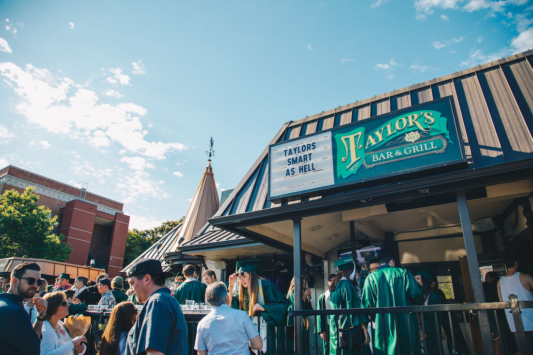 Breaking: Taylor's to impose $20 cover charge for non-students on Fridays and Saturdays