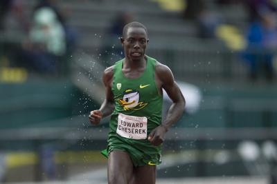 Edward Cheserek pulls out yet another Pac-12 title at 10,000 meters