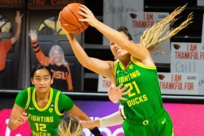University of Oregon Women's Basketball verses Oregon State
