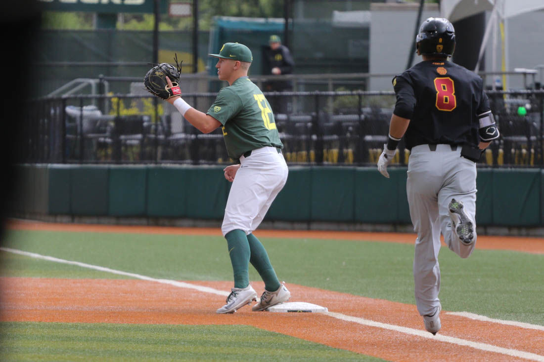 Photos: The Oregon Ducks defeat the University of Southern California Trojans 2-1
