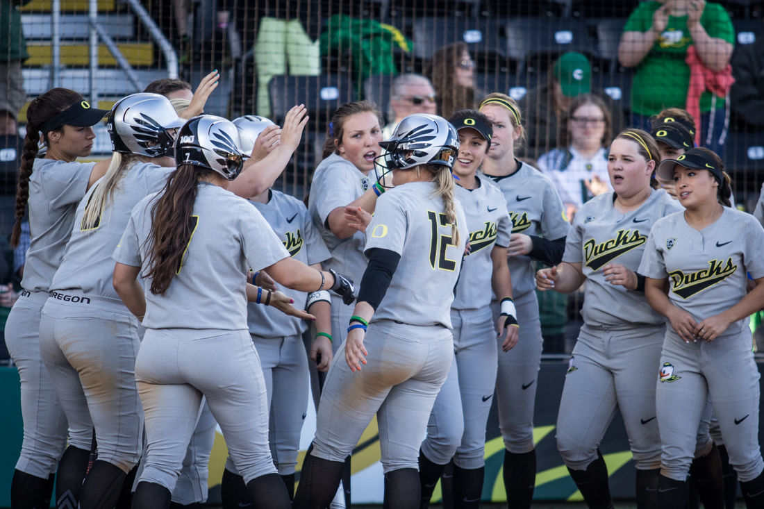 Photos: No. 6 Oregon Sweeps Portland State 7-1, 11-3 in a doubleheader