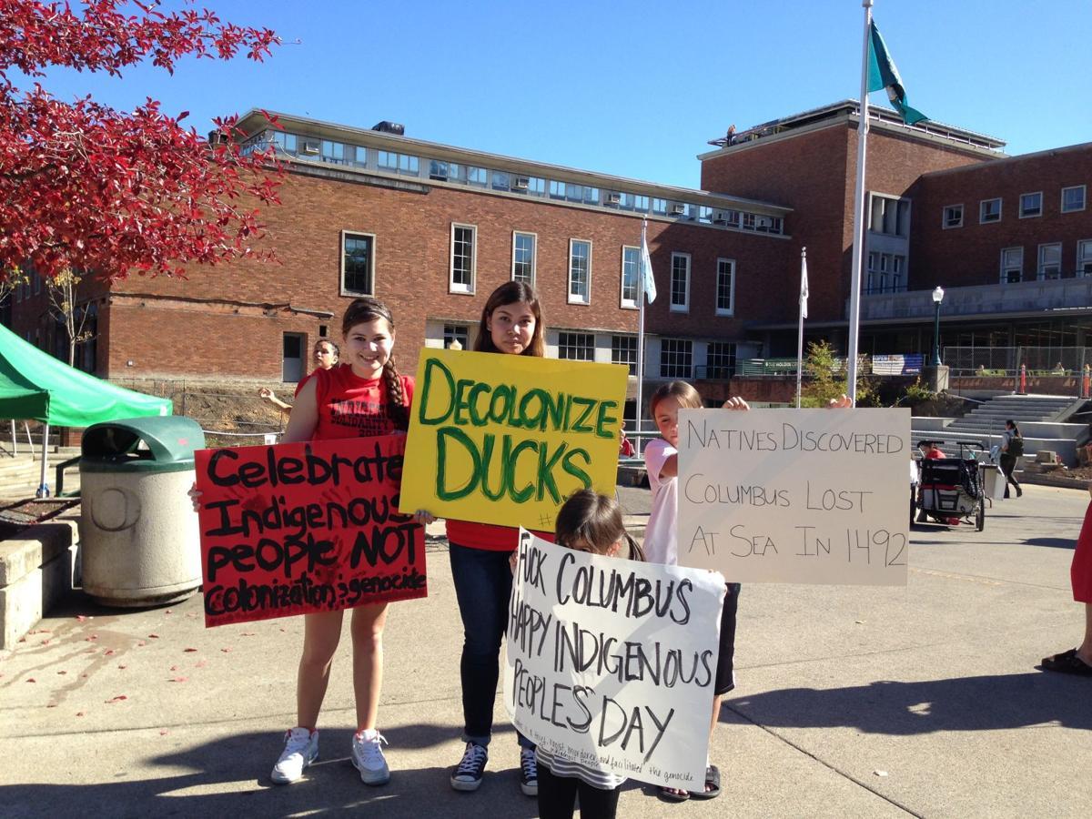 Scratch Columbus Day: NASU celebrates Indigenous Solidarity Day
