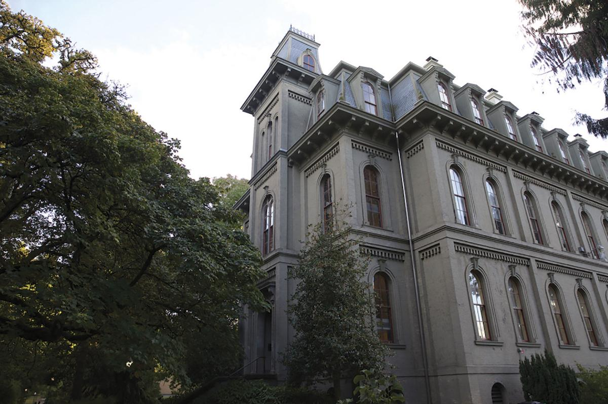 Deady Hall's rooms sometimes reach 90 degree heat, and UO may ask the state to pay for a renovation to fix it