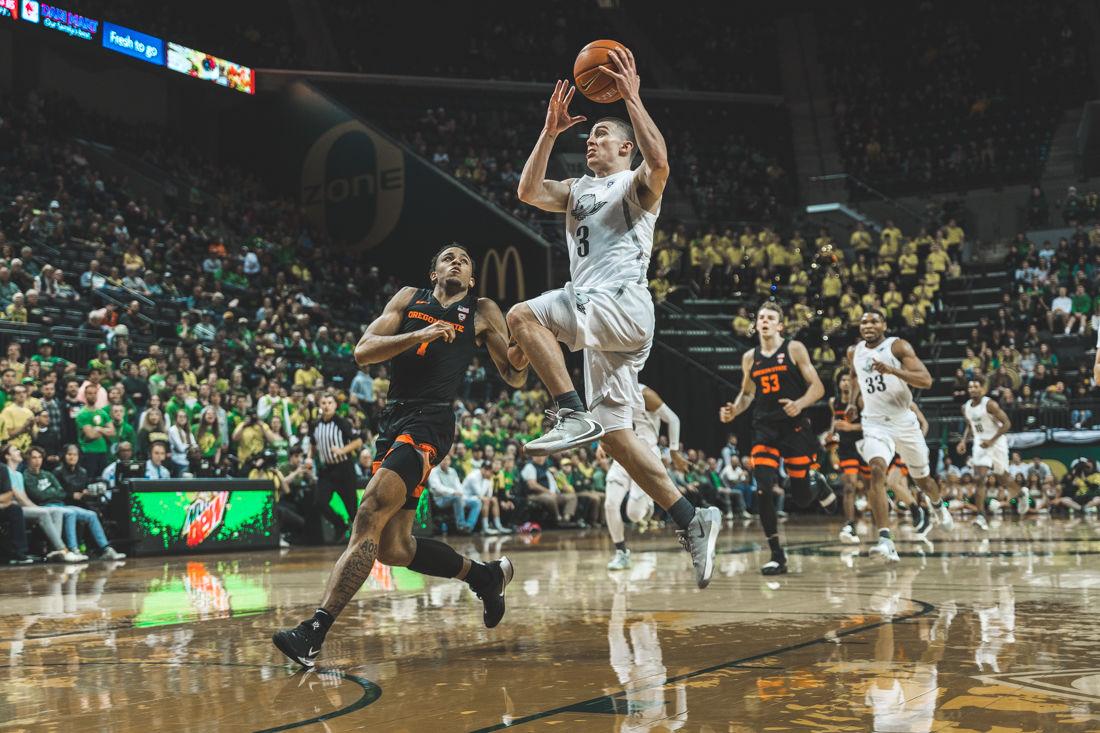 Photos: No. 14 Ducks beat Oregon State 69-54