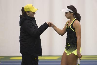 Oregon women's tennis head coach Alison Silverio leaves for Notre Dame job