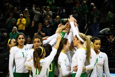 Oregon volleyball picked fourth in preseason Pac-12 poll, Vander Weide All-Pac-12