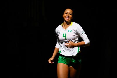 Frankie Shebby no longer with Oregon volleyball following alleged academic issue