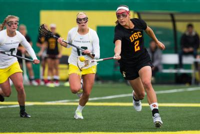 Oregon lacrosse fails to complete late rally, loses 13-11 against USC
