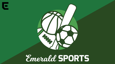 Emerald Sports podcast logo horizontal