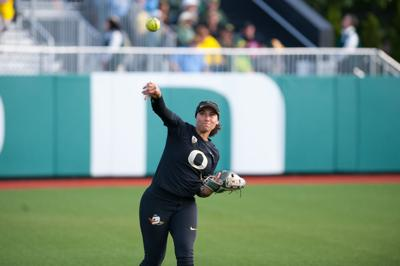 Rhodes Pinto And Bishop Off Oregon Softball S Roster Sports