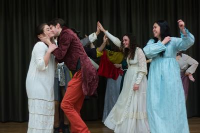 Russian Theater class culminates in presentation of play 'The Lady Peasant'