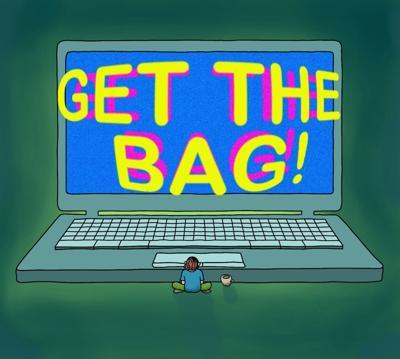 Get the Bag! Illustration