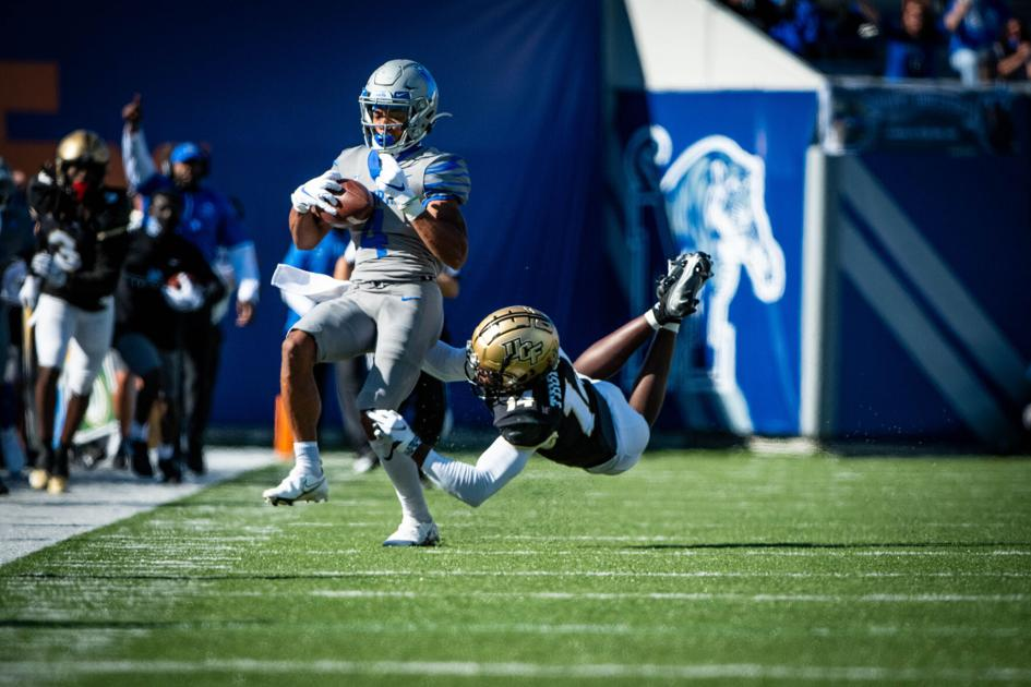 Memphis beats UCF in high-scoring, comeback fashion