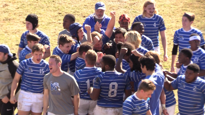 Memphis rugby team after MTSU win