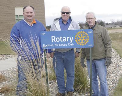 Madison Rotary plants Healing Garden at MRHS