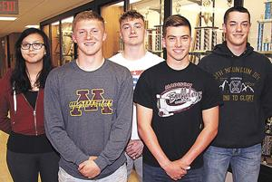 Five Madison graduates prepare for military service