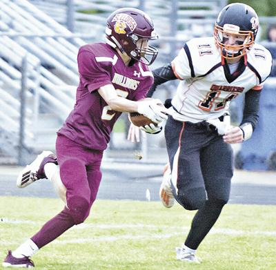Dell Rapids wins battle of unbeatens; MHS loses 41-14