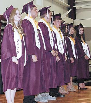 Madison High School holds ceremony for 72 graduates