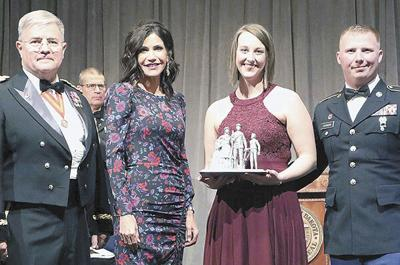 S.D. Guard presents awards for distinguished service; Johnson family honored