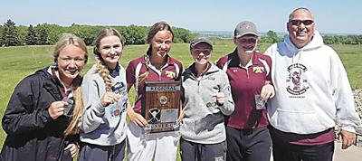 Lady Bulldogs place second in Region 1A Golf Tournament