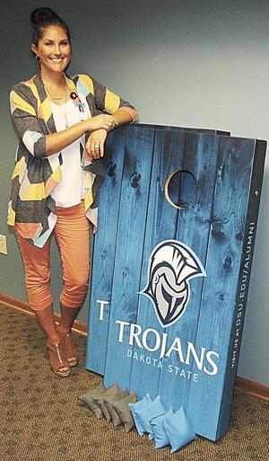 DSU Foundation raffles Trojan beanbag game set