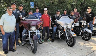 Motorcycle club supports local Veterans Honor Park