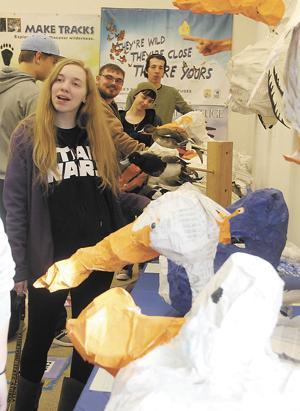 DSU students display work at USFWS Visitor Center