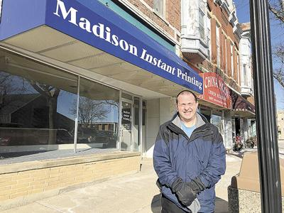 Madison mayor closes local printing business