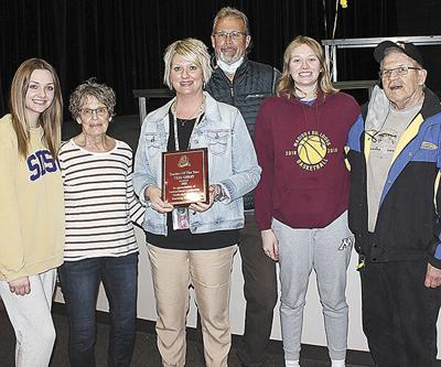Gerry is Madison Central Teacher of the Year