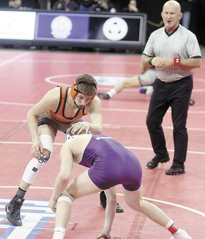 Howard Tigers place 11th at State B Wrestling Tournament