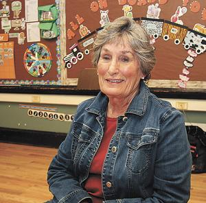 <p>JACKIE TYC, a volunteer at St. Thomas School in Madison, received the 2019 Friend of Education Award from the Greater Madison Area Chamber of Commerce. After a career of teaching elementary students, Tyc continues to volunteer as a classroom aide one day a week.</p>