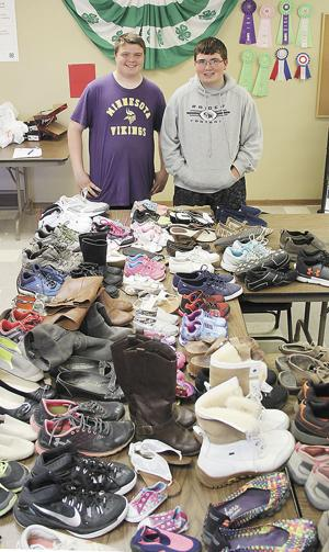 4-H Jr. Leaders accepting shoe donations
