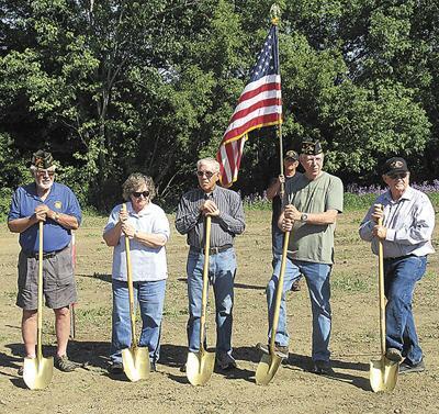Veterans Honor Park supporters break ground
