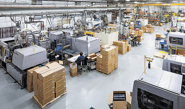 Falcon Plastics leadership seeks to diversify facility; pandemic challenged new president