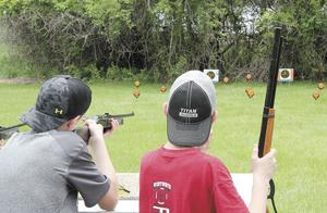 <p>MIDDLE SCHOOL STUDENTS had the opportunity to shoot BB guns at the end of May when the Step Outside trailer came to Madison as part of a daylong event organized especially for them. Now, Lake Herman State Park has organized an event on Sunday, Aug. 19, to provide others in the community with the same opportunity.</p>