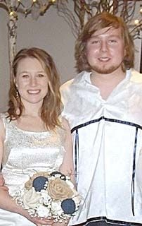 Katherine Beck and Christopher Night Pipe were joined in marriage