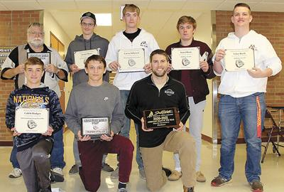 Awards presented to Madison wrestlers