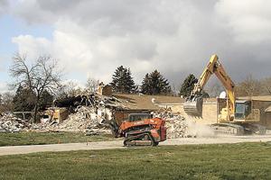 Nursing home demolition