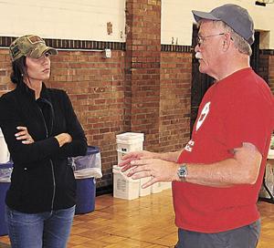 Noem visits Lake County to view flood damage